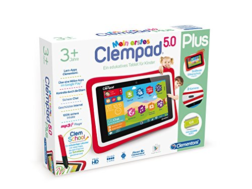 Clementoni 69481.5 - Mein erstes Clempad Tablets und Zubehör HD 3 PLUS