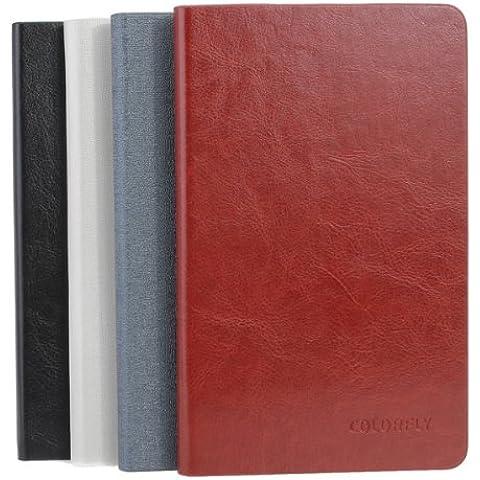 Cubierta de cuero de la PU del folio Especializada para Colorfly E708 Tablet Q1.