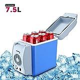 Hetarmi 7.5L Mini Portable Car Fridge Refrigerator Cooler & Warmer 12V (multi color)