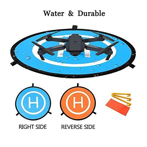 "Drone Landing Pad, Pista de aterrizaje de drones, 22""/55cm Impermeable Helicoptero Plegable Portátil Landig Mat para DJI Mavic Pro Phantom 2/3/4/Pro, Helicóptero RC, Mavic Pro, Chispa, Inspire drone"