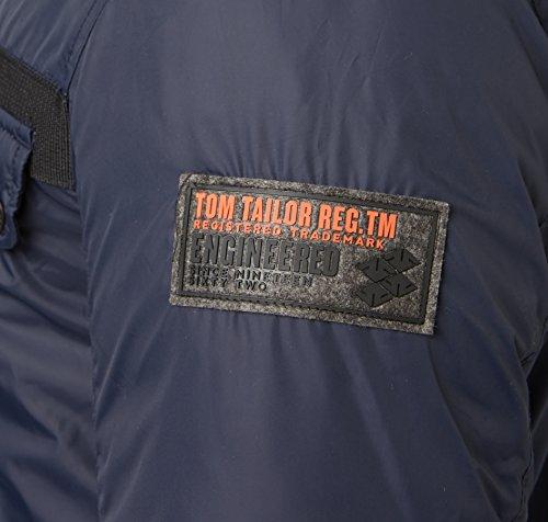 TOM TAILOR Uomini Giacca invernale Outdoor Blu scuro