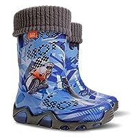 Demar Boys Wellington Boots Blue
