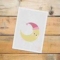 Postkarte Dreamchen Kinderzimmer Deko Mond Luna
