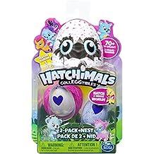 """Hatchimals 6034164 """"Colleggtibles con Nido"""" Parque infantil (Paquete de 2)"""