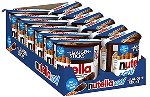 Nutella & GO! Laugen-Sticks, 12er Pack (12 x 54g) (Nutella Ferrero)