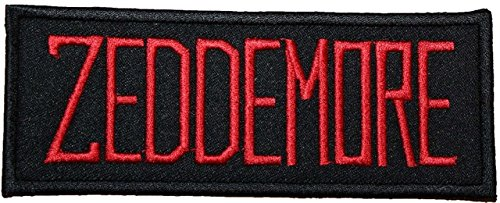 Aufbügler bestickt Motiv Ghostbusters Zeddemore Namensschild 15,24 cm zum Aufbügeln oder Aufnähen