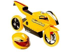 Bratz MGA Dynamite Motorrad und Helm gelb Motor Bike