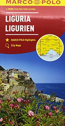 Liguria 1:200.000 (Carte stradali Marco Polo)