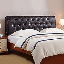 GUOWEI cabecero cojines Funda de cama de tela suave Soft almohada cama almohada respaldo almohada cama suave cojines triangulares ( Color : E , Tamaño : 150*60*10CM )