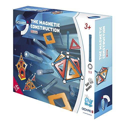 Beluga Spielwaren 62023 Galileo Geomag Panels 44, Konstruktionsspielzeug