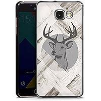 Samsung Galaxy A5 (2016) Housse Étui Protection Coque Cerf Bois Forêt