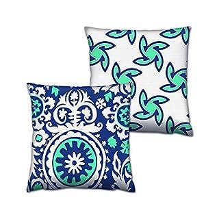 Asir Group LLC 417GRV0157Gravel Cushion Set 2, Multi-Colour