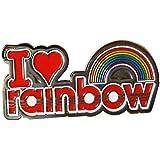 I love Rainbow Pin Badge - 19567