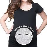 hibote Mutterschaft T-Shirts T-Shirts Cute Mutterschaft Kleidung Lustige Schwangerschaft Tops K650 XL