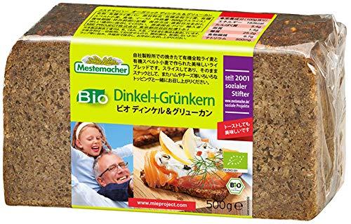 Mestemacher Bio Dinkel + Grünkern 500g