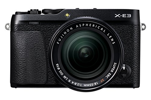 Fujifilm X-E3 KIT XF 18-55 mm Fotocamera Digitale 24 MP, Sensore CMOS...
