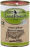 Landfleisch Wolf reiner grüner Pansen Rinderpansen 400g Dose Hunde Nassfutter