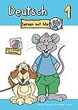 Deutsch lernen mit Mo - Teil 1: Bildwörterbuch zum Ausmalen, Üben und Spielen mit farbigen Bildkärtchen