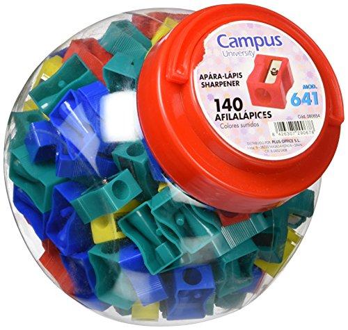 Campus University X02-1 /080654 - Afilalápiz de plástico, envase de 140 unidades
