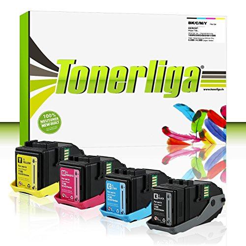 Preisvergleich Produktbild Neu Toner Set ersetzt Xerox 106R02605 / 106R02599 / 106R02600 / 106R02601 für Phaser 7100 / Phaser 7100N / Phaser 7100DN, 100% Neuware