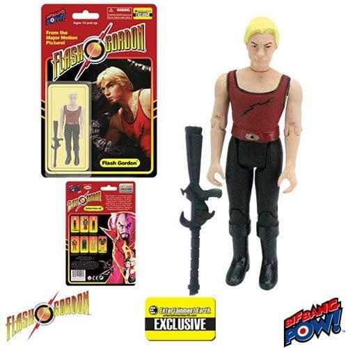 Flash Gordon in Red Tank Shirt 3 3/4-Inch Figure - EE Excl. by Bif Bang Pow!