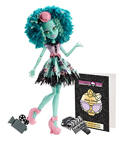 Monster High - Bambola Honey Swamp, versione Hauntlywood