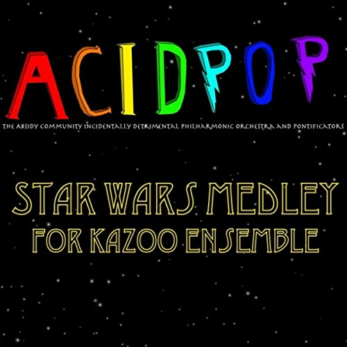 Star Wars Medley for Kazoo Ensemble: Main Theme/Cantina Band/Princess Leia's Theme/The Imperial March/Yoda's Theme/May the Force Be with You