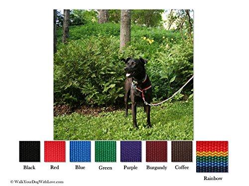 Würge-freies, zerr-freies, von vorne führendes Hundegeschirr, Originalausführung, Größe 3 kg bis 113 kg, 8 Farben