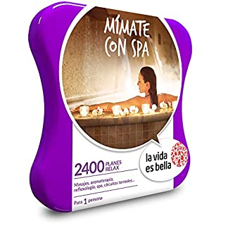 la vida es bella caja regalo spa