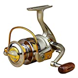 LeaningTech EF1000-7000 Series 10BB Ball Bearing Saltwater/ Freshwater Fishing Spinning Reel 5.5:14