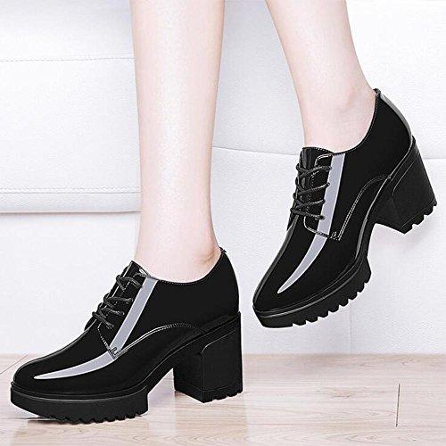 Women 's Fall Mirror Women' s Handbag Women 's Shoes Scarpe Donna 8742 black