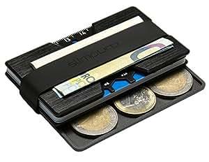 porte carte de cr dit en aluminium etui pour carte bancaire carte bleue mini portefeuille et. Black Bedroom Furniture Sets. Home Design Ideas