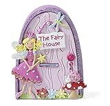 Porta fata magica, decorazione per parete, zoccolino o porta - Lucy Locket