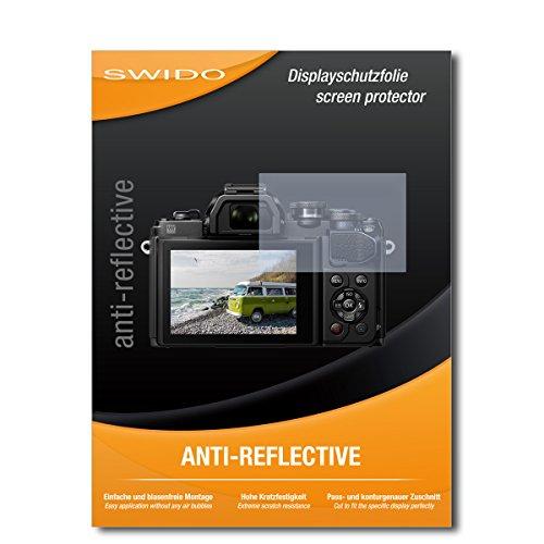 2 x SWIDO Pellicola Protettiva Olympus OM-D E-M10 Mark III Screen Protector Pellicola Protettiva Film 'AntiReflex' antiriflesso