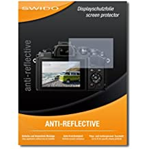 "2 x SWIDO® Protector de pantalla Olympus OM-D E-M10 Mark III Protectores de pantalla de película ""AntiReflex"" antideslumbrante"