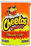 Cheetos Crunchy Flamin Hot Canister 120.4 g (Pack of 3)