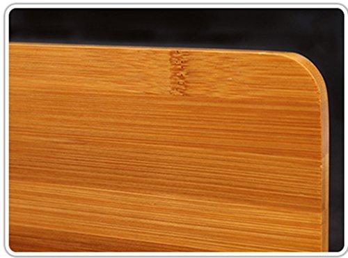 DFHHG® Estantería de bambú 27.5 * 21 Cm Marco de lectura Estanterías de lectura Creative durable