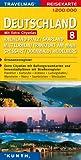Deutschland 8: Rheinland-Pfalz/Saarland/Mittelrhein/Frankfurt am Main/Spessart/Odenwald/Heidelberg: 1:200.000 -