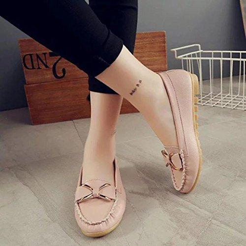 Printemps MocassinsQinmm Cuir Femmes Chaussures Eté En Souple Mode vmOn0ywN8