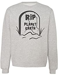Rip Planet Earth Monument Sudadera Unisex