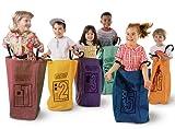 Tappeti di apprendimento Jumping Bags - Set da 6