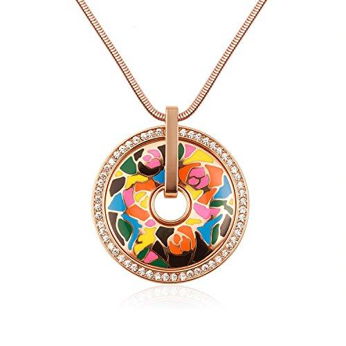 fancydeli-bijoux-de-mode-ont-augment-chane-en-or-pendentif-fleur-collier-de-lmail-avec-des-cristaux-