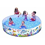 A Fun and Exciting Dip in a Mini Pool The Intex underwater fun swimming pool is great fun when your child needs some respite on a hot summer day. Just fill it with water and let your kids dive in for some exciting water games without having to vis...