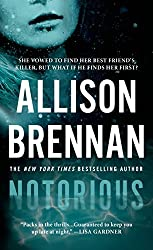 Notorious (Max Revere Novels) by Allison Brennan (2014-12-30)