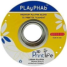 3D Printlife Pla / Pha Miscela 3D Filamento Stampante, Precisione Dimensionale <+/- 0.05mm, 2.85mm, Rosso