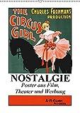 NOSTALGIE Poster aus Film, Theater und Werbung (Wandkalender 2019 DIN A2 hoch): Nostalgische Poster aus der guten alten Zeit (Monatskalender, 14 Seiten ) (CALVENDO Kunst)