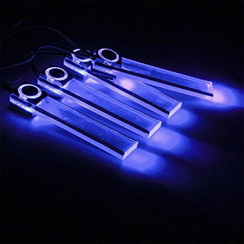 KKmoon - Illuminazione d'ambiente LED per interno auto