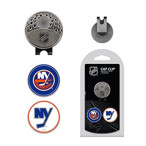 Team Golf NHL Clip pour Casquette de Golf avec 2 marqueurs de Balle magnétiques Amovibles Double Face en émail