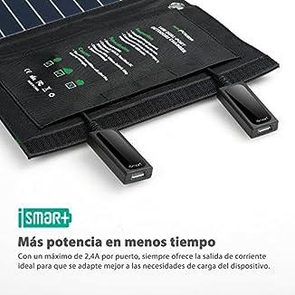 RAVPower Cargador de Panel Solar 16W 2