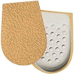 YOURSTEP Leder-Fersenbett / Ferseneinlagen - Größe 38-40 für Sie und Ihn - (Schuheinlagen)